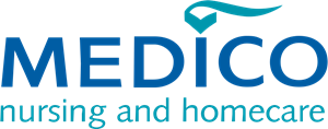 Medico Nursing and Homecare Logo Vector