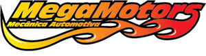 MegaMotors Mecanica Automotiva Logo Vector