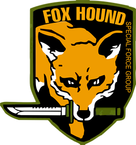 Metal Gear Solid Foxhound Logo Vector