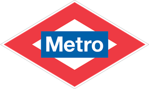 Metro Madrid Logo Vector
