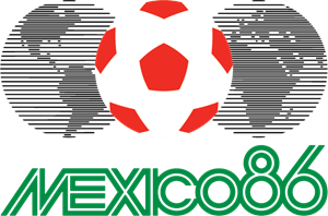 Mexico 1986 Logo Vector