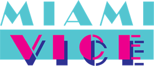 Miami Vice Logo Vector