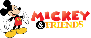 Mickey & Friends Logo Vector