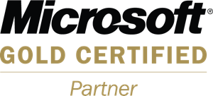 Microsoft Gold Certified Partner Logo Vector