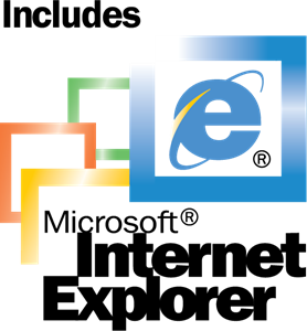 Microsoft Internet Explorer 5 Included Logo Vector
