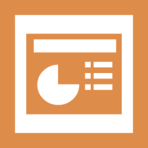 Microsoft Office - Powerpoint Logo Vector