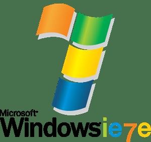 microsoft windows 7 logo vector