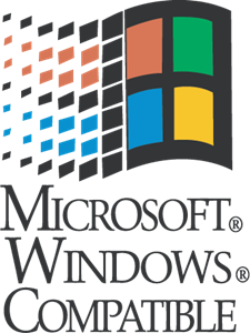 Microsoft Windows Compatible Logo Vector