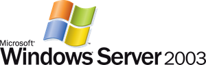 Microsoft Windows Server 2003 Logo Vector