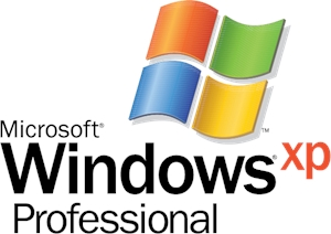 Microsoft Windows XP Professional Logo Vector