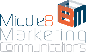 Middle 8 Marketing Communications Logo Vector