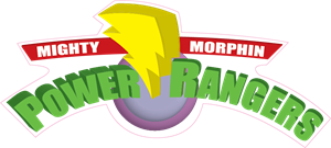 Mighty Morphin Power Rangers Logo Vector