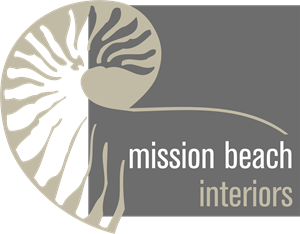 Mission Beach Interiors Logo Vector