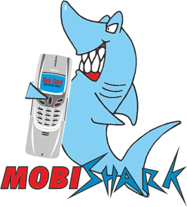 Mobi Shark Logo Vector