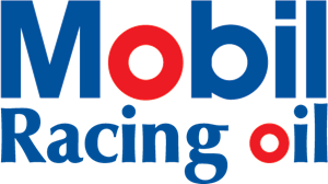 Mobil Racing oil Logo Vector