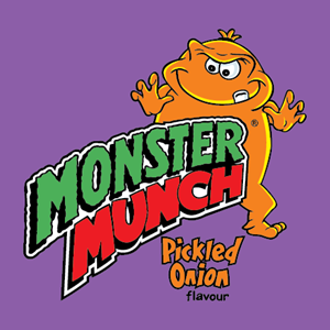 Monster Munch Logo Vector