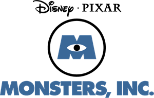 monsters inc logo vector eps free download
