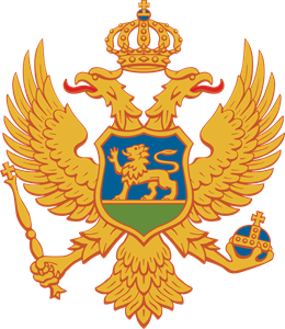 Montenegro - coat of arms Logo Vector