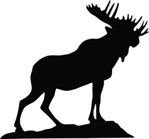 Moose Lodge Logo Vector
