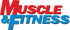 Muscle & Fitness Logo Vector