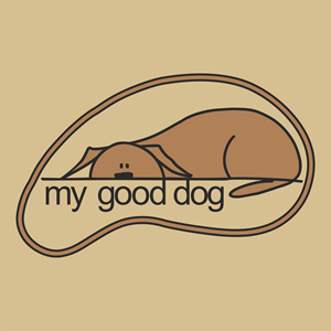 My Good Dog Logo Vector