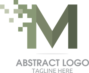 M Abstract Logo Vector