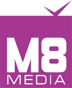 M8media - branding and web designing company Logo Vector