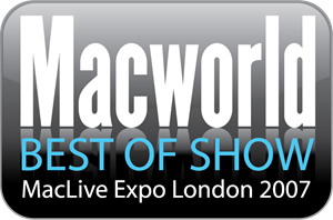 Macworld Best of Show MacLive Expo Logo Vector