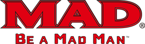MAD BE A MAD MAN Logo Vector