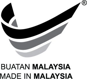 Made In Malaysia Black and White Logo Vector