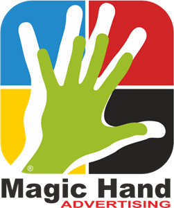 Magic hand Logo Vector