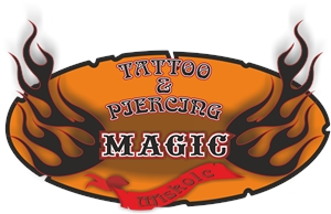 magic tattoo-piercing Logo Vector