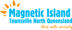 Magnetic Island Townsville North Queensland Logo Vector
