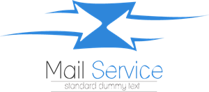 Mail Service Logo Vector