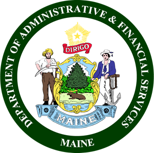 Maine Department of Administrative and Financial S Logo Vector