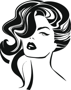 makeup salon Logo Vector