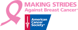 Making Strides Against Breast Cancer Logo Vector