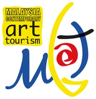 Malaysia Contemporary Art Tourism Logo Vector