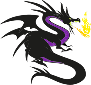 Maleficent Dragon Logo Vector Eps Free Download