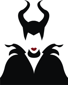 Maleficent Logo Vector Ai Free Download