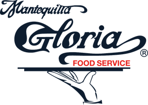 Mantequilla Gloria Food Service Logo Vector