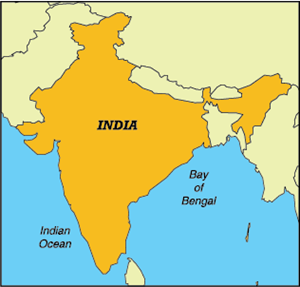 MAP OF INDIA Logo Vector