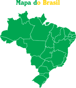 mapa do brasil logo 326E889CA5 seeklogo