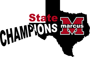 Marcus TX State Champions Logo Vector