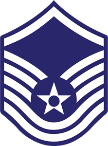 MASTER SERGEANT AIR FORCE RANK Logo Vector