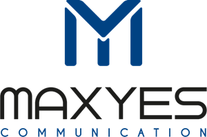Maxyes Communication Logo Vector