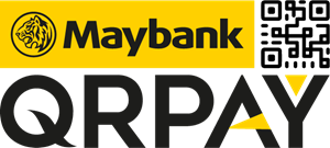 Maybank Qpray Logo Vector