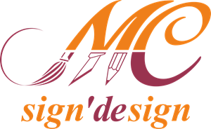 mc sign design Logo Vector