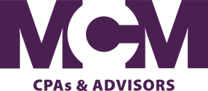 MCM CPAs and Advisors Logo Vector