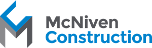 McNiven Construction Logo Vector